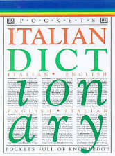Pocket Dictionary: Italian/English Dictionary, DK , Good, FAST Delivery
