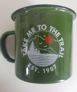 "Ozark Trail Outdoor Equipment 17 Oz ""Take Me To The Trail"" Coffee/Camping Mug"