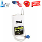 Portable Air Pump Marine Aerator Bubble Live Well Fish Bait Marine Metal Box