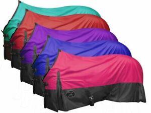 Showman 600 Denier Ripstop Nylon Turnout Waterproof & Breathable Horse Sheet