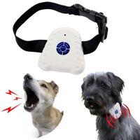 Anti Bark Dog Collar Pet Puppy Adjustable Stop Barking Control Train Calm Down