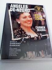 "DVD ""ANGELES DE NEGRO"" COMO NUEVO DAMIANO DAMIANI CARMEN MAURA SARA D'ARMARIO"