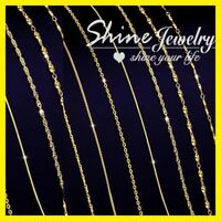 """9K YELLOW ROSE WHITE GOLD GF 1MM SNAKE CURB LINK NECKLACE MEN LADY CHAIN 16- 24"""""""
