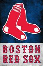 BOSTON RED SOX - LOGO POSTER - 22x34 - MLB BASEBALL 16510