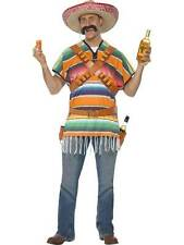 Tequila Shooter Guy Costume, One Size, Cowboys and Indians Fancy Dress #AU