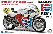 Fujimi Bike-13 1/12 Suzuki RGV-gamma XR74 1988 Team Pepsi Suzuki Rare from Japan