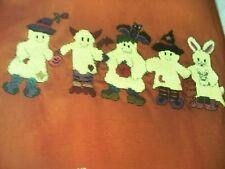 Ghost & Goblins Canvas Waste Halloween OOP Magazine Cross Stitch PATTERN (W)
