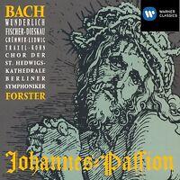 FORSTER/WUNDERLICH/GRÜMMER - JOHANNES-PASSION 2 CD CHOR KLASSIK NEUF BACH