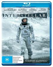 Interstellar (Blu-ray, 2 disc, Brand New)