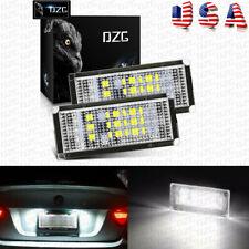 LED Number License Plate Lights For 98-03 BMW E46 2-Door 330Ci M3 Error Free US