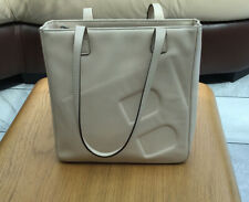 Bally Leather Bag In Cream/ Nude