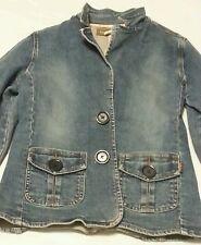 Hollister Women's Juniors Denim Jean Jacket Mint Condition Size Large L