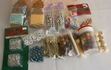 Junk Drawer Jewelry Craft Supplies Beads Buttons Scrapbooking items