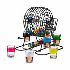Party- & Eventdekoration Trinkspiel Spin Or Strip Saufspiel Partyspiel 4 Gläser Und Drehscheibe Neu