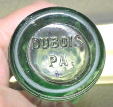 "RARE ICE BLUE COCA COLA NOV. 16, 1915  BOTTLE "" DUBOIS, PA.  ""  PORTER'S - R  """