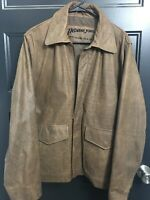 Indiana Jones Leather Jacket By Lucas Films 2008 size Medium Harrison Ford