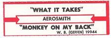 Juke Box Strip Aerosmith - What It Takes / Monkey On My Back