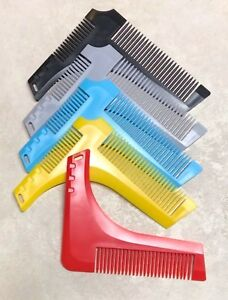3 Beard Comb Package. Contains a Wood Comb, Wood Brush, and Beard Shaping Comb