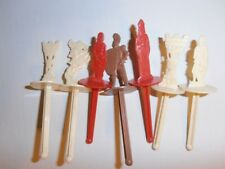 Buried Treasure ice cream sticks (7) knights and castles 1960's