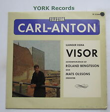 CARL-ANTON - Sjunger Egna Visor - Excellent Con LP Record Telestar TR 11046