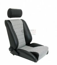Seat RECARO-S Replica GTR85 Faux Leather/Pepita for Porsche 911 65 - 89