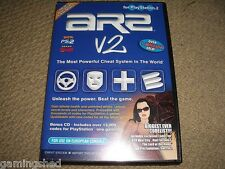 Action Replay 2 v2-Sony Playstation 2 ps2 Cheat System import DVD Memory Card