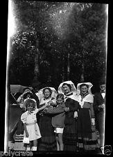Portrait Femme Costume Traditionnel Limousin ? -  négatif photo  années 1950