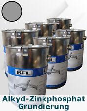 6 x 2,5Li  Alkyd-Zinkphosphat-Grund Grau, haftstarker Rostschutz  9,19 €/Li