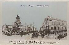 ARGENTINA BUENOS AIRES PALACIO DEL CONGRESO CONFITERIA DEL MOLINO TRAMWAY