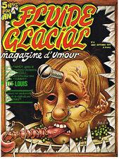 FLUIDE GLACIAL N° 6 AOUT/SEPTEMBRE 1976 EDITIONS AUDIE TRES BON ETAT