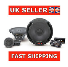 "ALPINE SPR-50C 5.25"" 5"" 300W Car Audio 2-Way Component 13cm Speakers + Tweeters"
