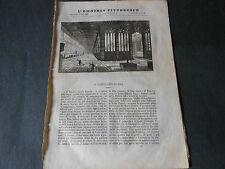 1838 IL CAMPOSANTO DI PISA ABORIGENI D'ITALIA DISEGNO BARTOLOMEO PINELLI
