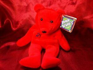 Salvinos Bamm Beano Sammy Sosa 21 Red Beanie Baby Chicago Cubs 1998 MLB