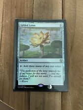 Gilded Lotus - MTG - Dominaria - NM Foil