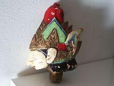 Old indonesian head. Ancienne tete Indonésie Bali poupée