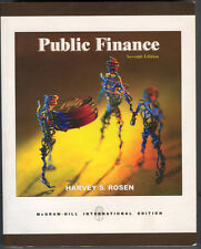 Public Finance Seventh 7th Edition Harvey S. Rosen Paperback 2005 Free Shipping