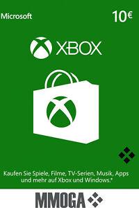 Microsoft Xbox Live 10 Euro Card - MS Xbox 360 & One 10 € Guthaben Karte [EU]*
