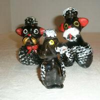 Vintage Lot 3 Poodle Souvenir Figurines Hershey Park Made in Japan