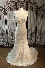 812 MAGGIE SOTTERO BREANNA SZ 10 $1497 IVORY  WEDDNG DRESS GOWN