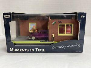 Vintage Motor Max  Moments Time Saturday Morning 1:64 Car Motor Max Diecast NOS
