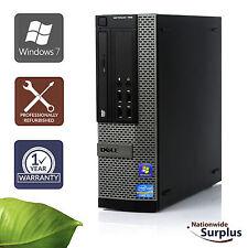 Dell Optiplex 790 SFF PC Core i3-2120 3.3GHz 4GB 80GB Win 7 Pro 1 Yr Wty