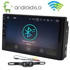"Quad-Core Head Unit 2Din 7""Android 6.0 Car Stereo GPS Radio HD 1GB DDR3+Camera"