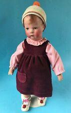 Käthe Kruse Mädchen Stoff-Puppe 10 schmal Kurbelkopf 35cm Puppe 1 verkleinert~31