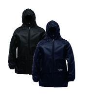 Mens Womens Regatta Stormbreak Waterproof Jacket Hooded Rain Coat Hydrafort tec