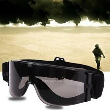 Military Airsoft Tactical Goggles Sunglasses Army Paintball Glasses Eye Safety