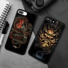 Chinese Ancient Dragon Silicone Phone Case Cover For iPhone Samsung Galaxy