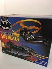 BATMAN SKY BLADE Vehicle - 1991 Kenner - Launch Batman through the Air! - NEW