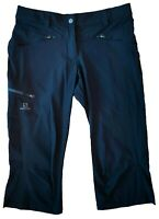 Salomon Hiking Shorts Black Sz.6 Trekking Men Women Advanced Skin Shield Sports