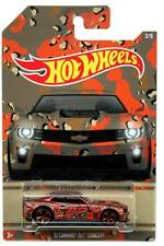 2015 Hot Wheels Camouflage Series #3 '12 Chevy Camaro ZL1 Concept