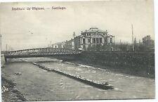 CHILE Instituto de Higiene Santiago UNUSED postcard Ed. Hume